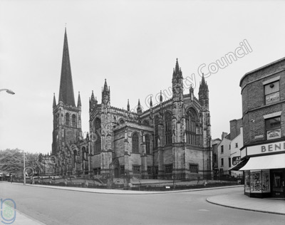 Wakefield Cathedral, 1961